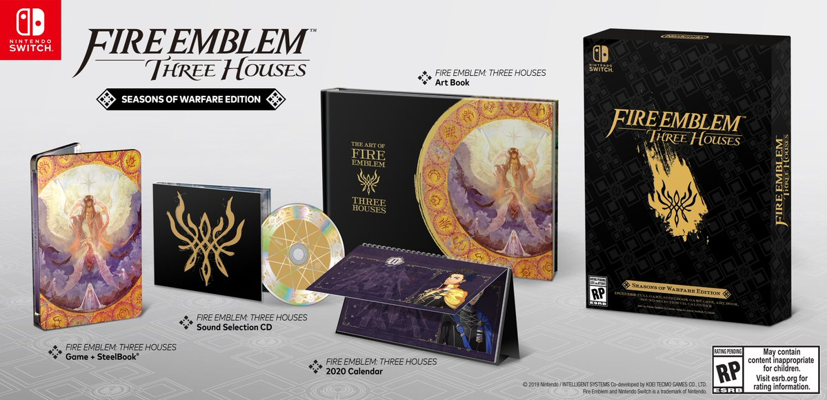 Fire Emblem Three Houses Seasons Of Warfare Edition