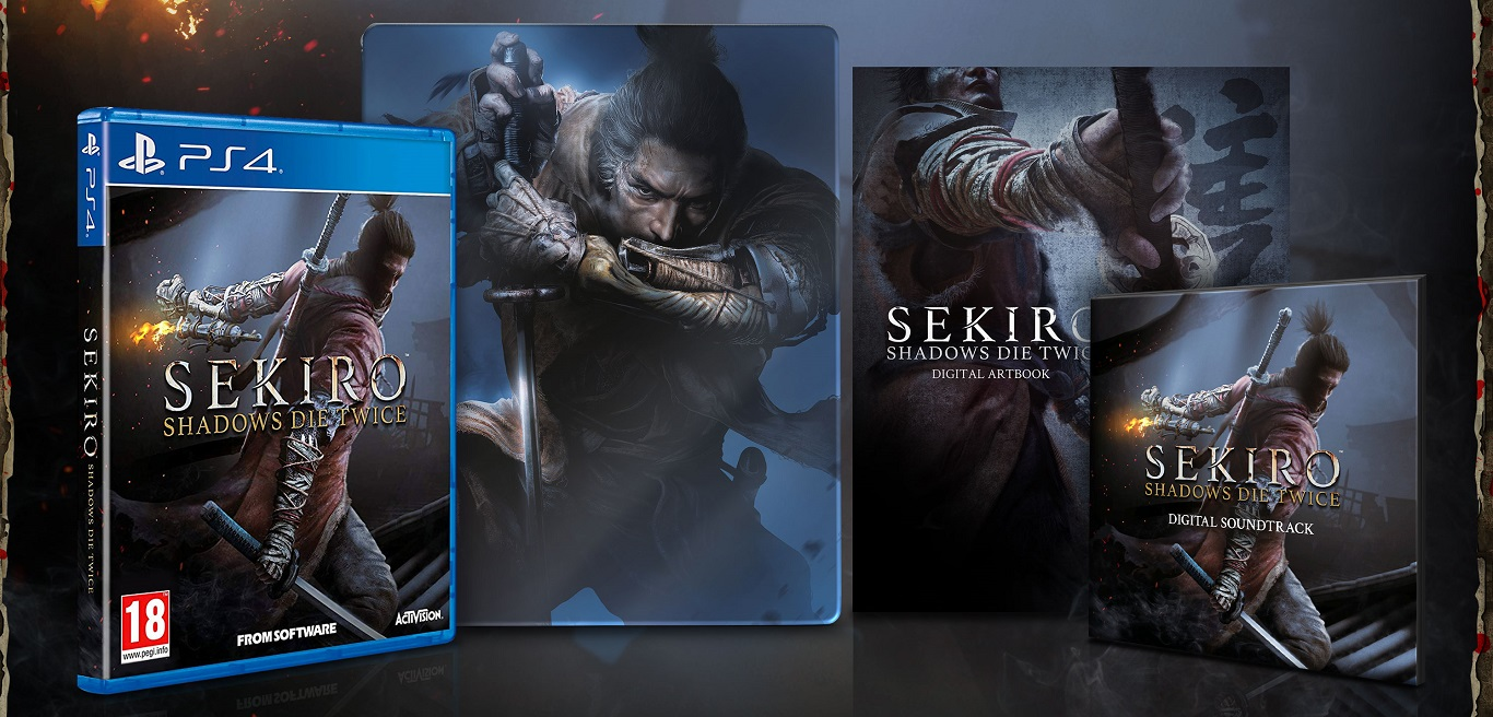 Sekiro: Shadows Die Twice Steelbook Edition
