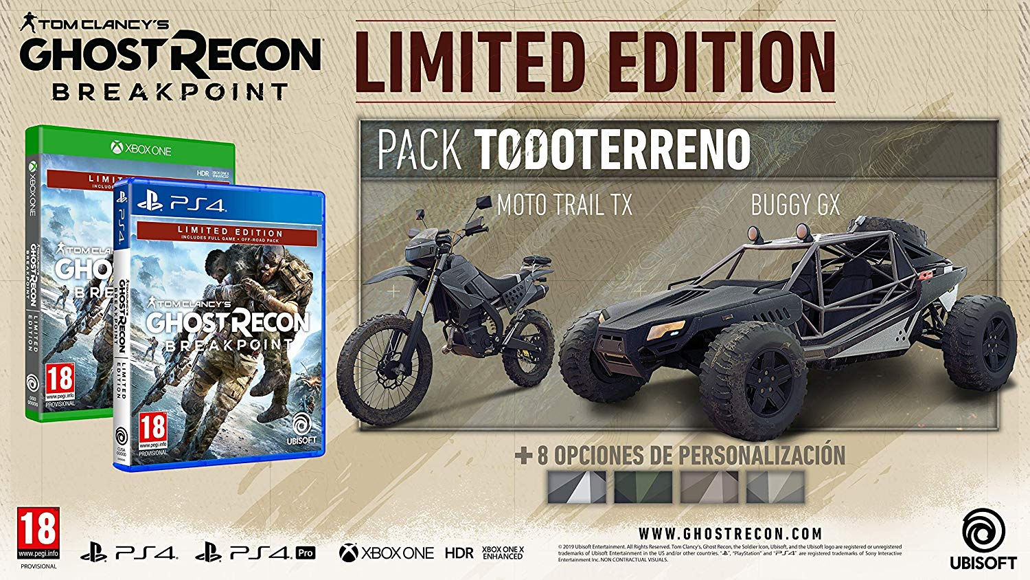 Tom Clancy's Ghost Recon Breakpoint Limited Edition
