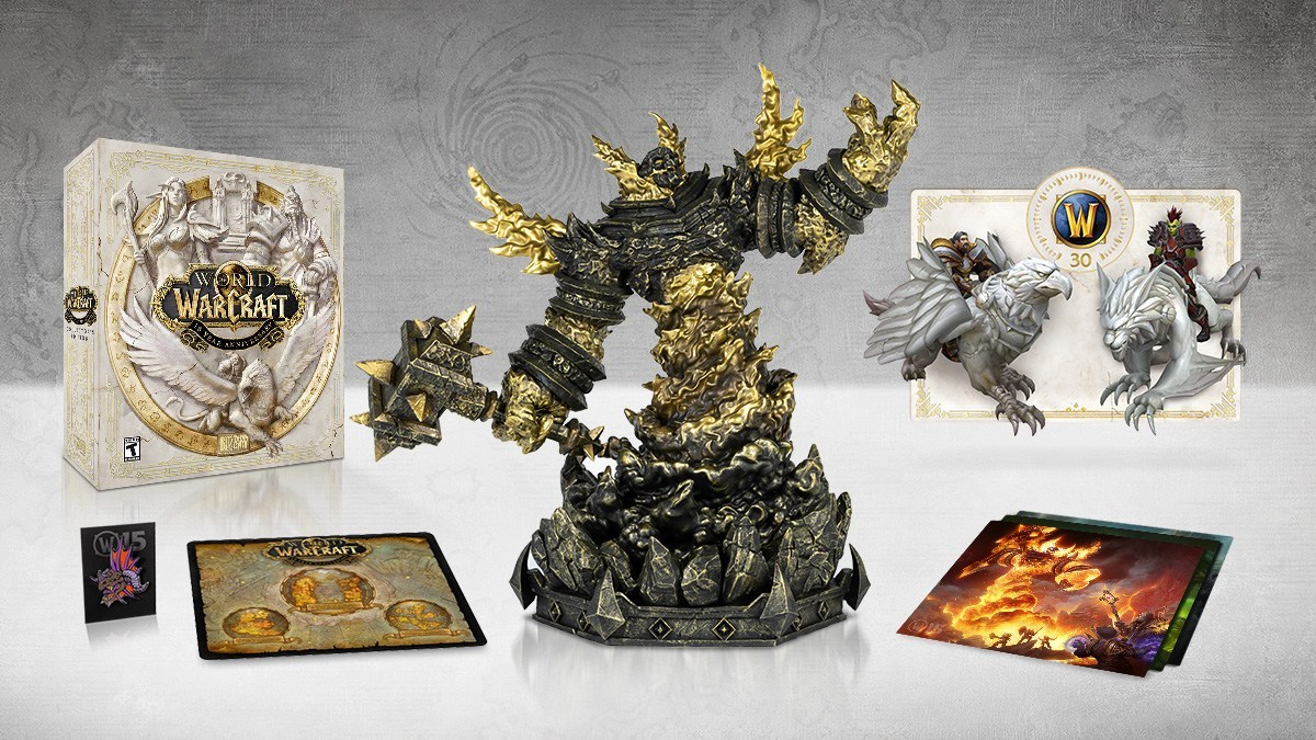 World of Warcraft 15th Anniversary Collector's Edition