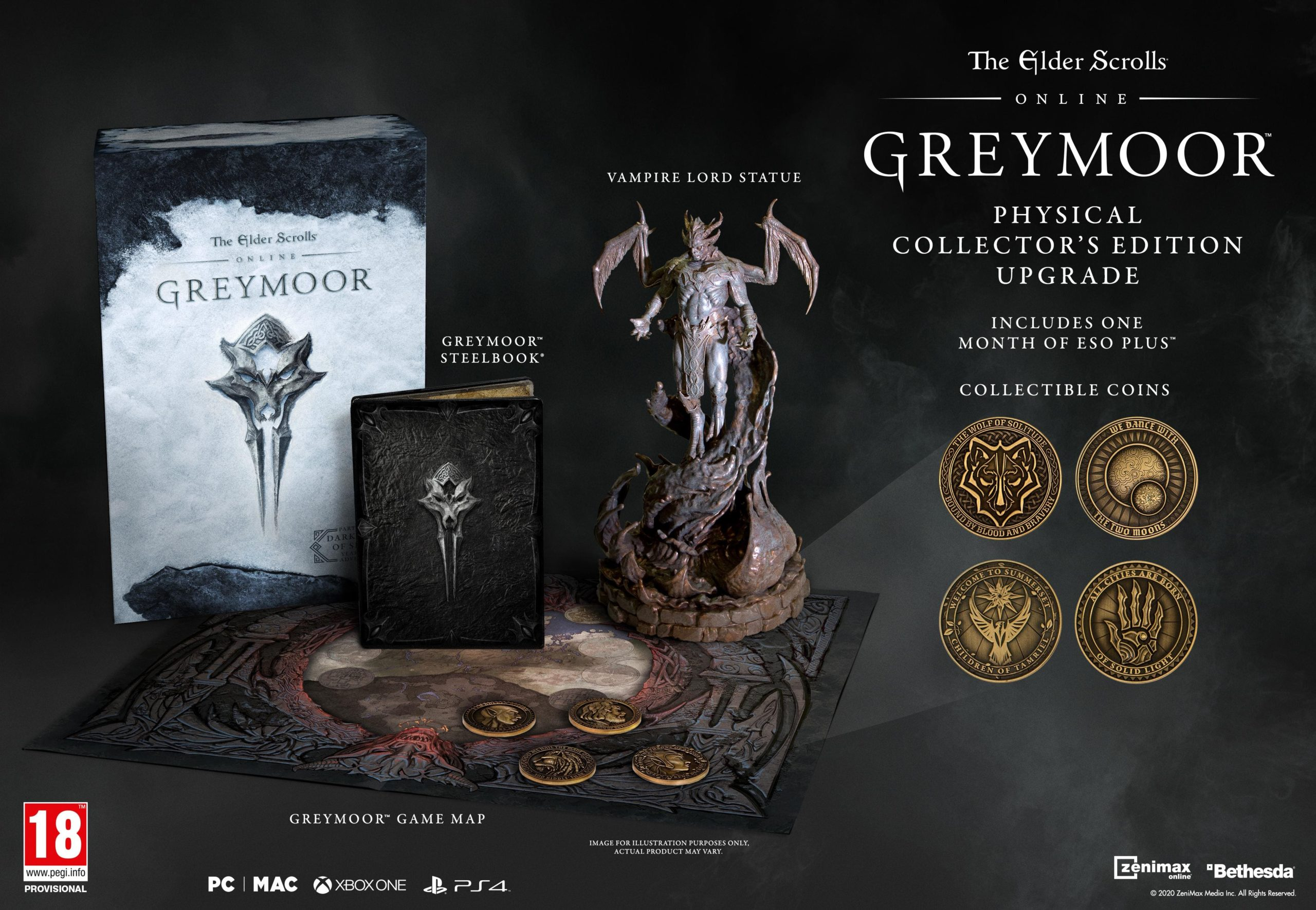 The Elder Scrolls Online Greymoor Collectors Edition
