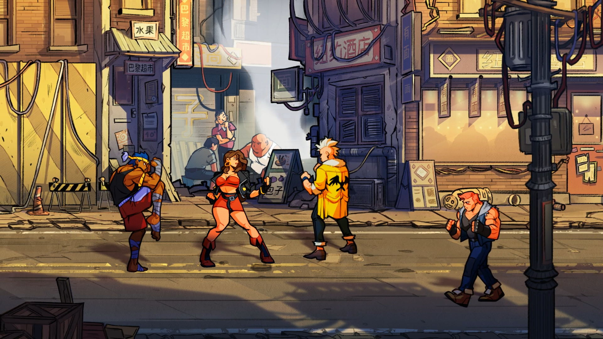 Streets of Rage 4 Classic Edition