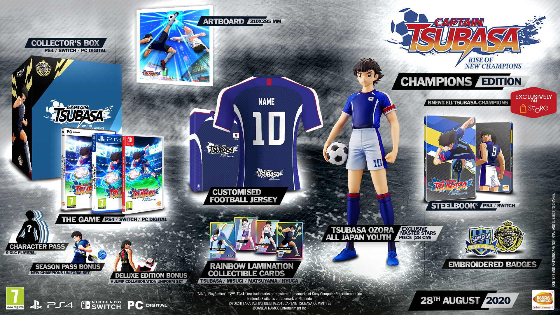 Captain Tsubasa Rise of New Champions Champions Edition