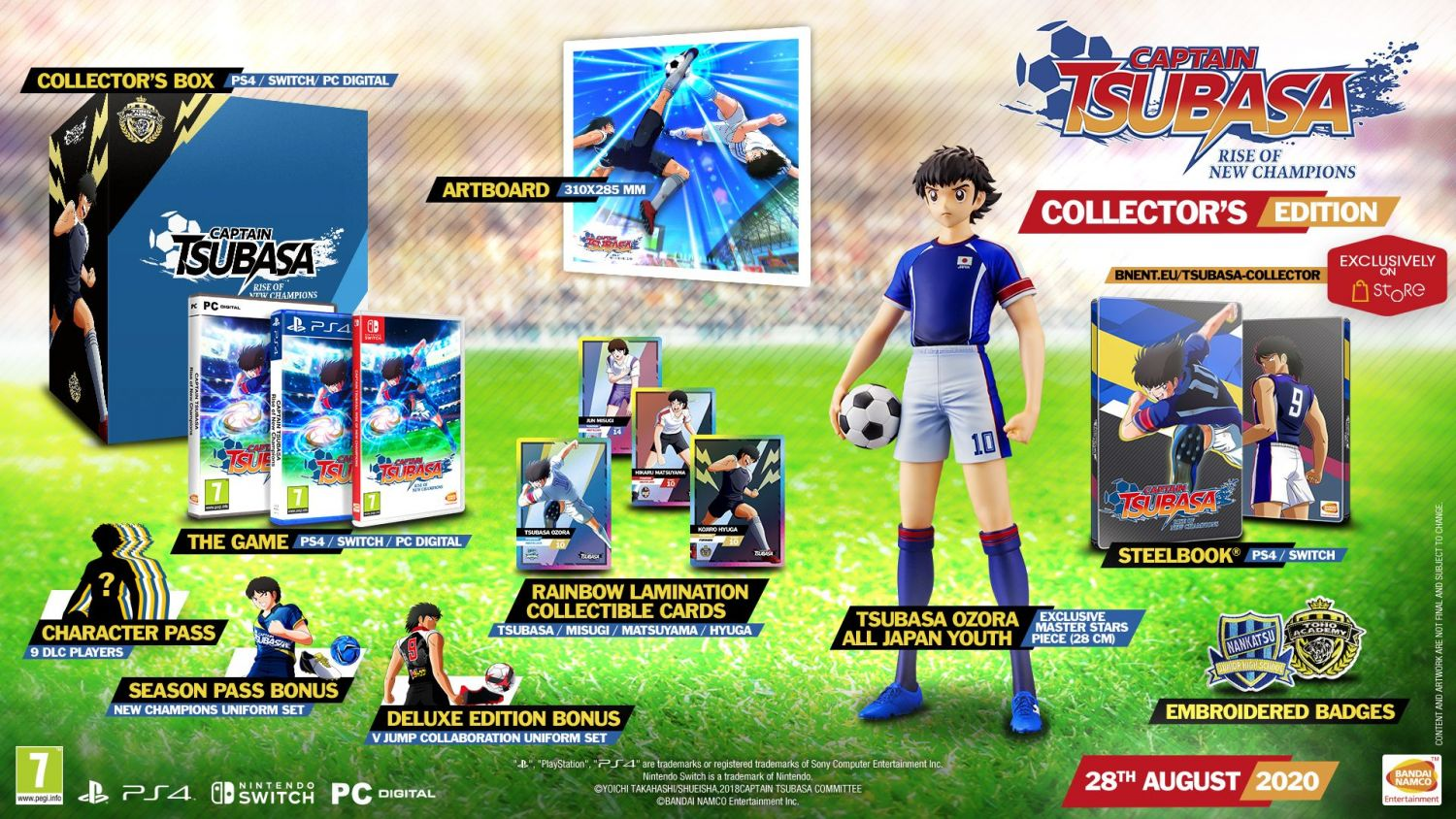 Captain Tsubasa Rise of New Champions Collector's Edition
