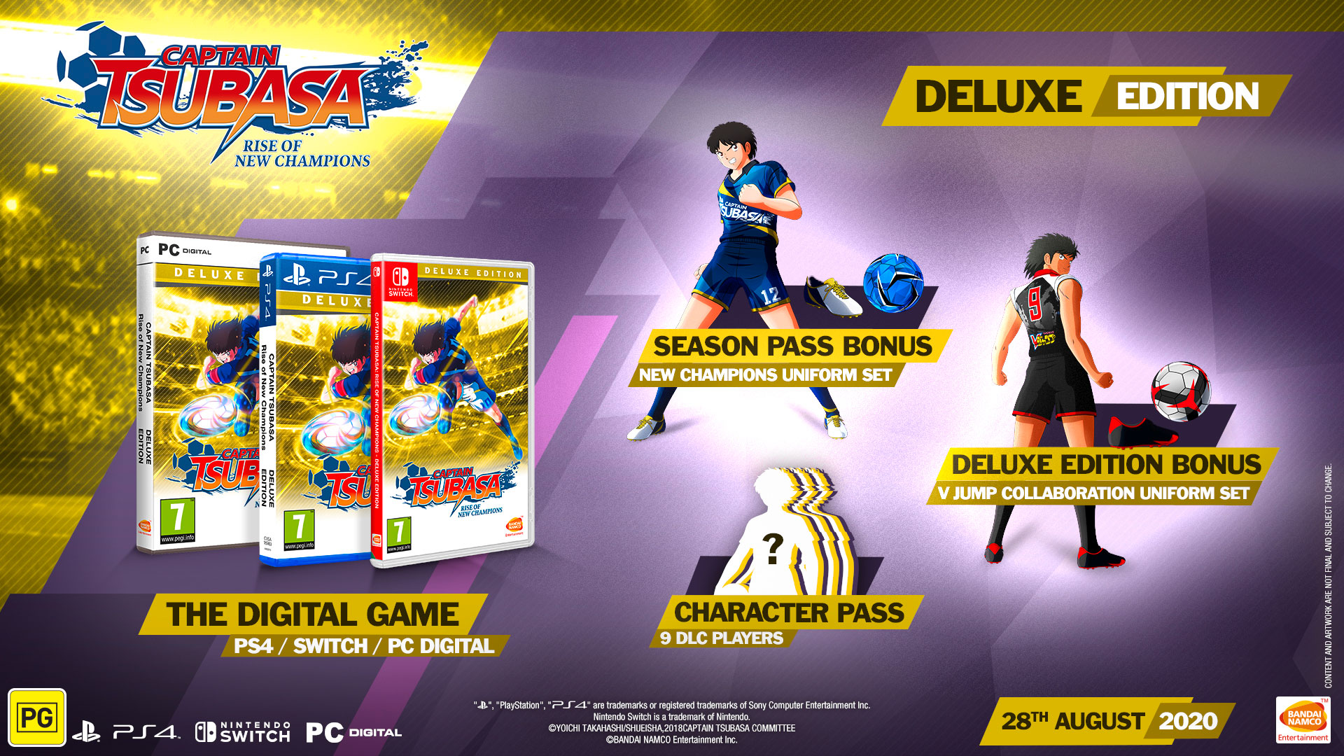 Captain Tsubasa Rise of New Champions Deluxe Edition