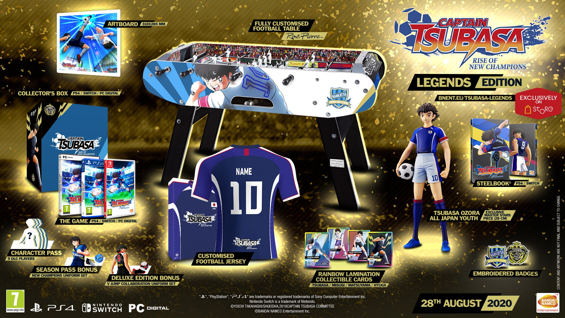 Captain Tsubasa Rise of New Champions Legends Edition