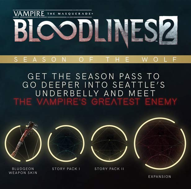 Vampire The Masquerade Bloodlines 2 Blood Moon Edition