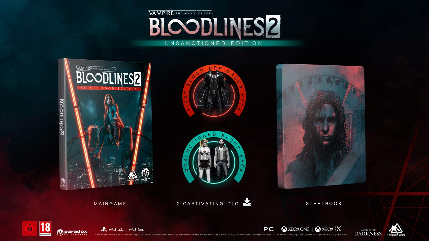 Vampire The Masquerade Bloodlines 2 Unsanctioned Edition