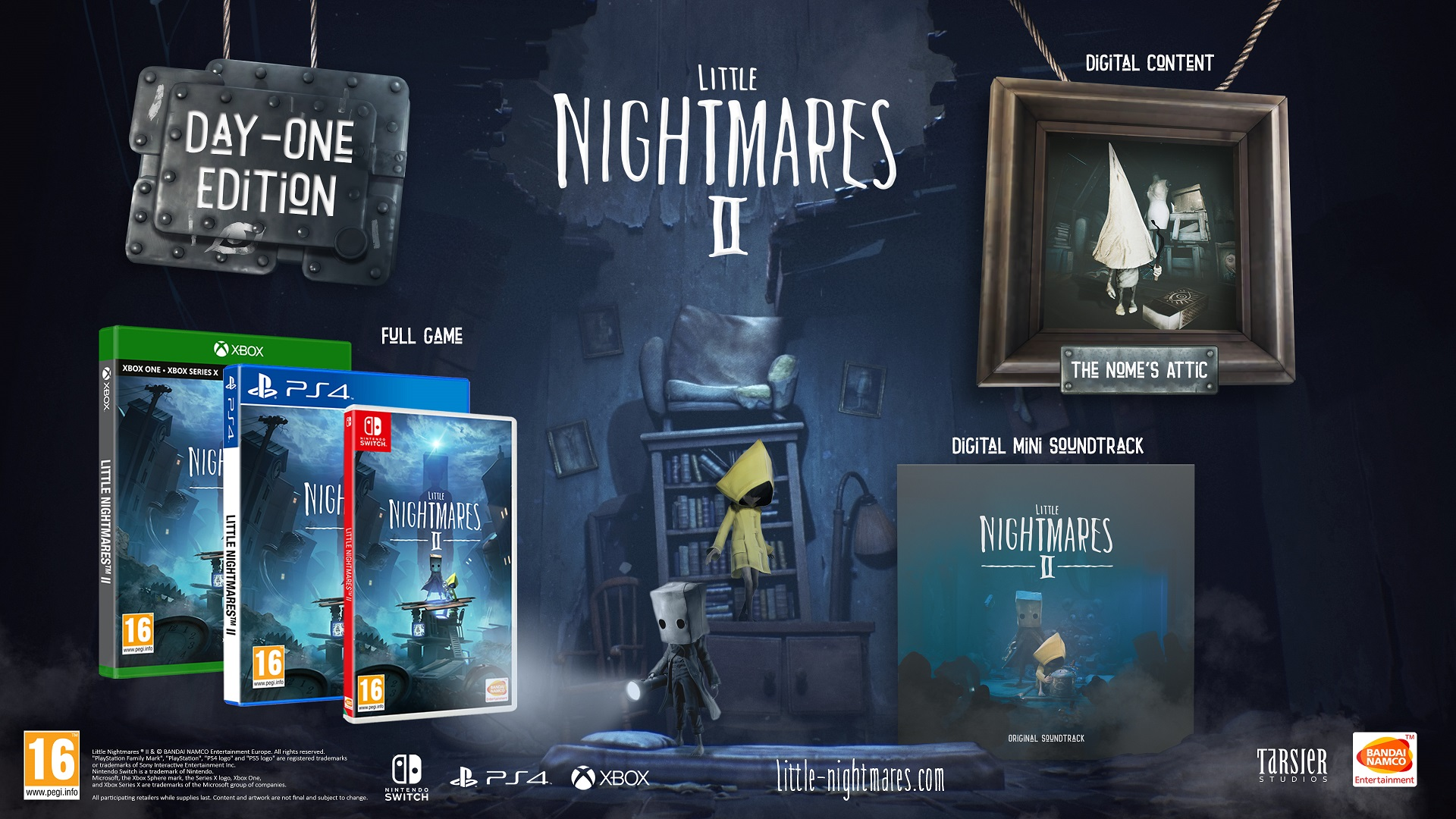 Little Nightmares II Day One Edition