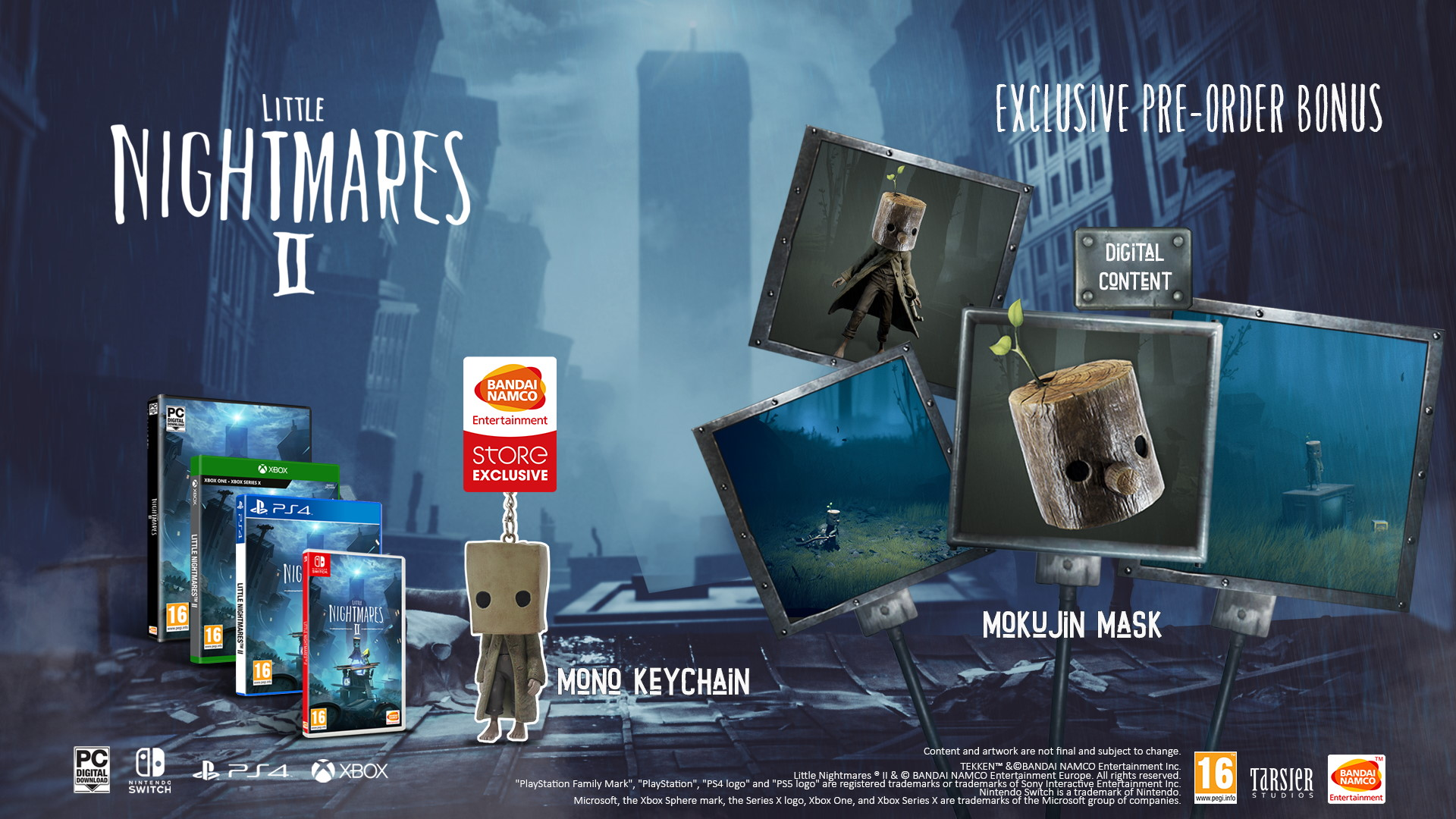 Little Nightmares II Pre-Order Bonus