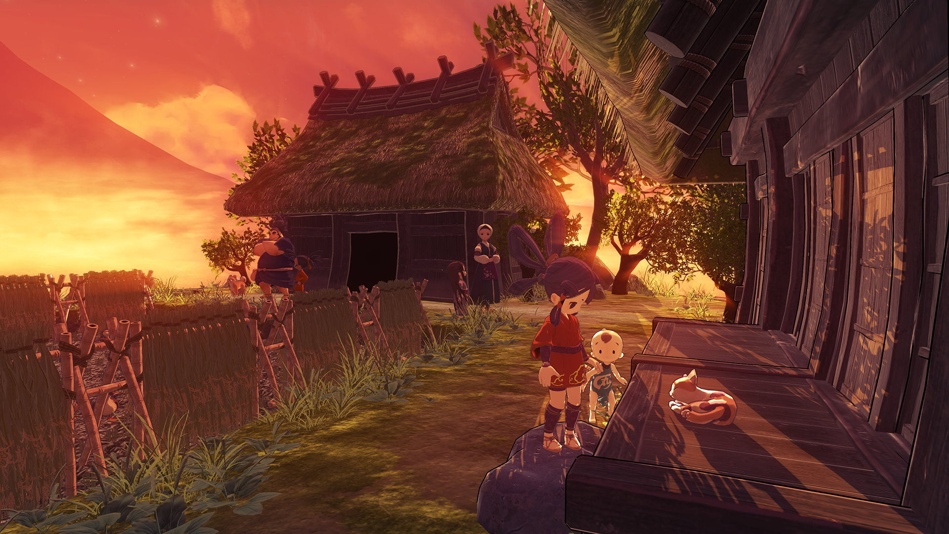 Sakuna Of Rice and Ruin Divine Edition
