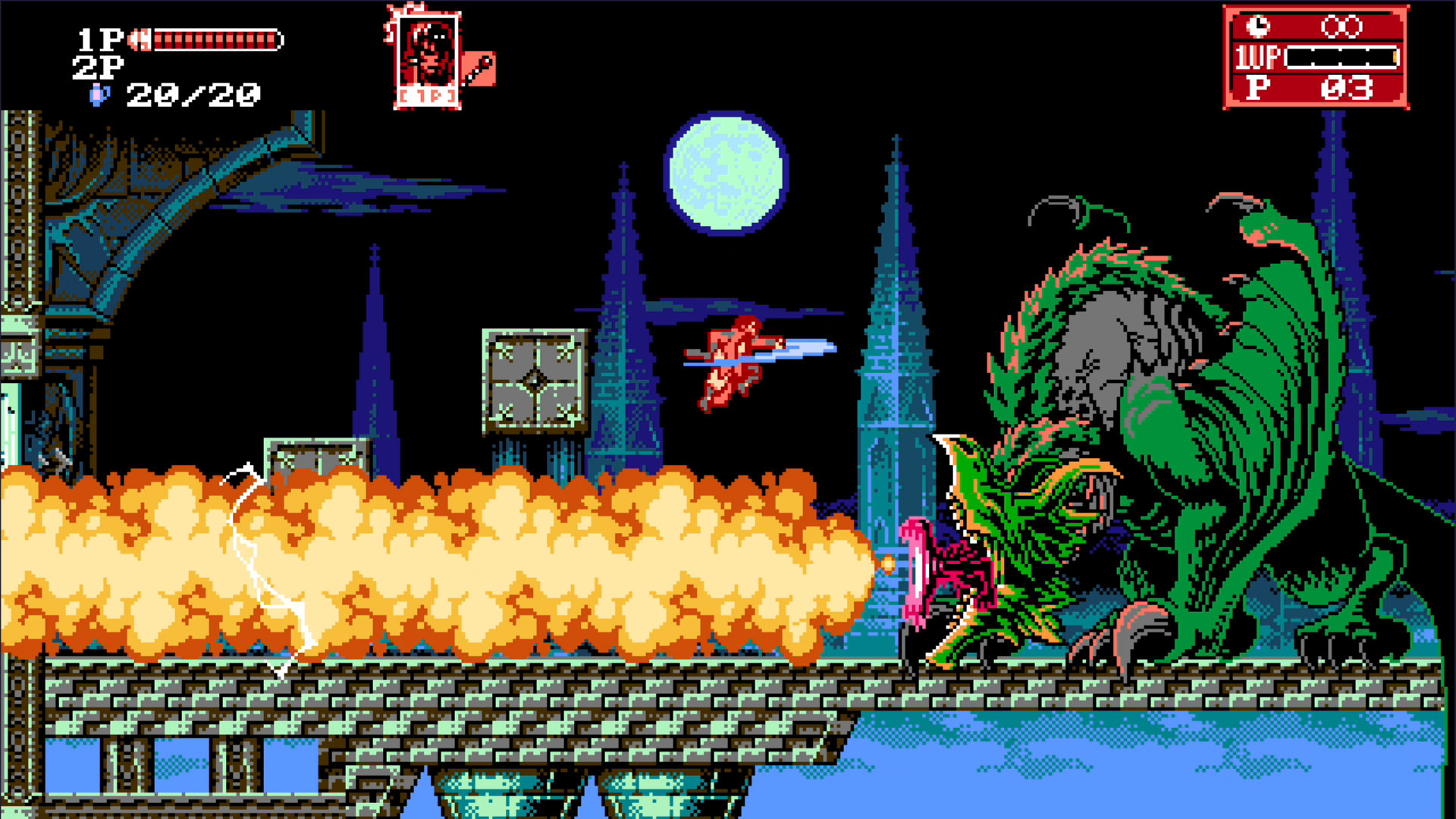 Bloodstained Curse Of The Moon 2 Classic Edition