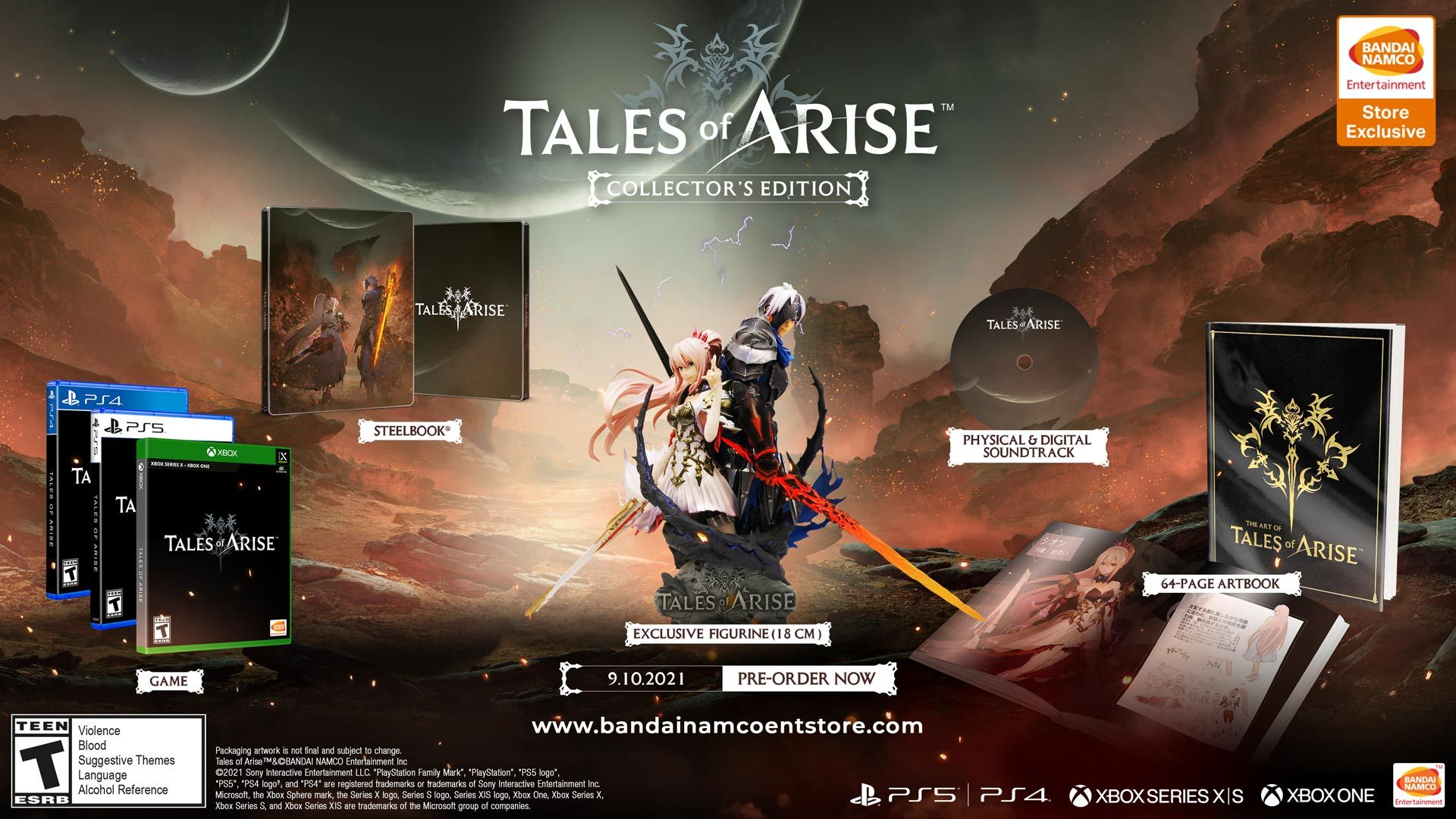 Tales of Arise Collector's Edition US