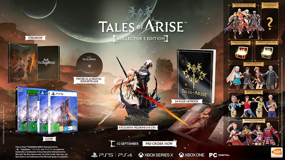 Tales of Arise Collector's Edition EU