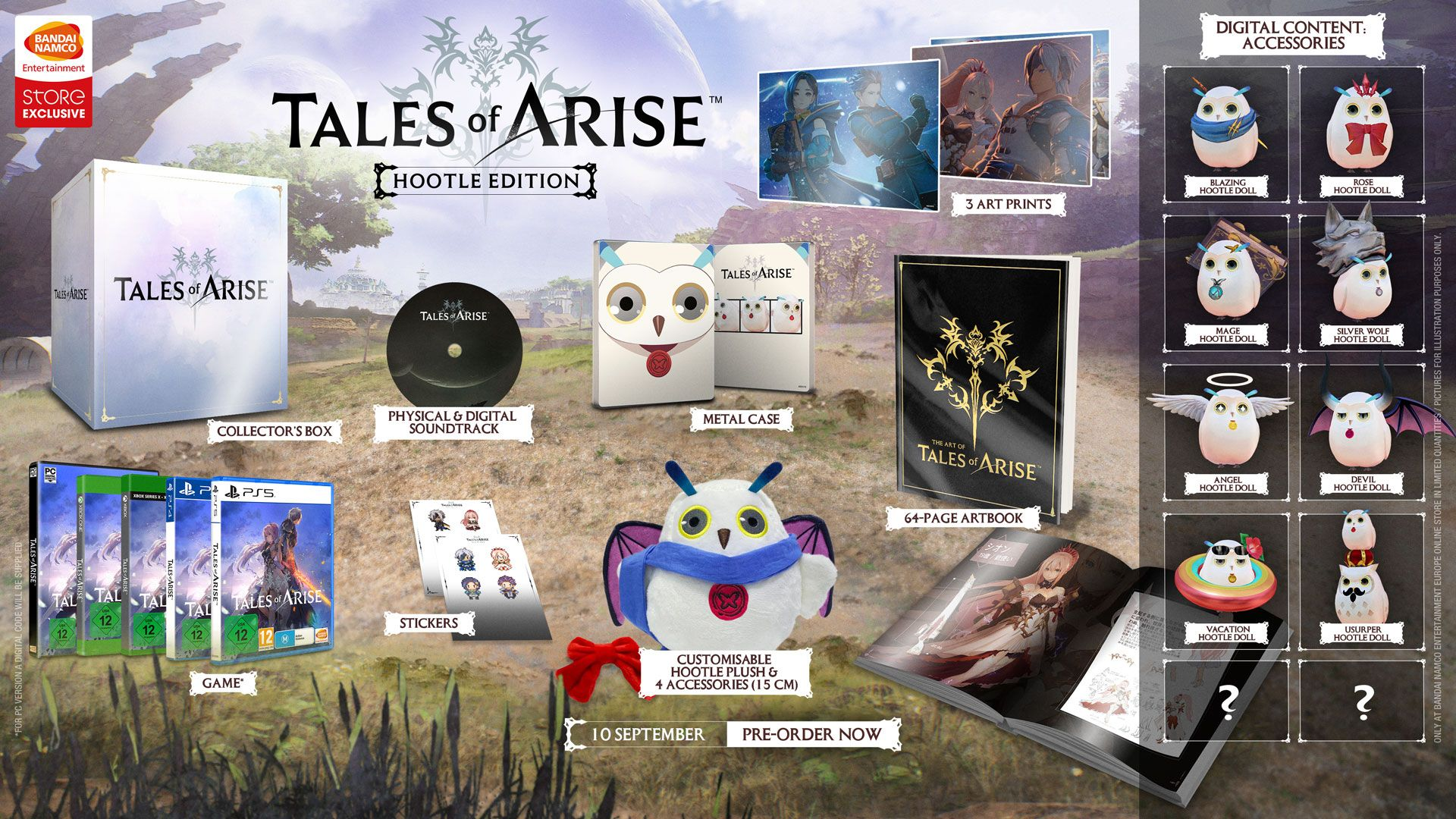 Tales of Arise Hootle Edition