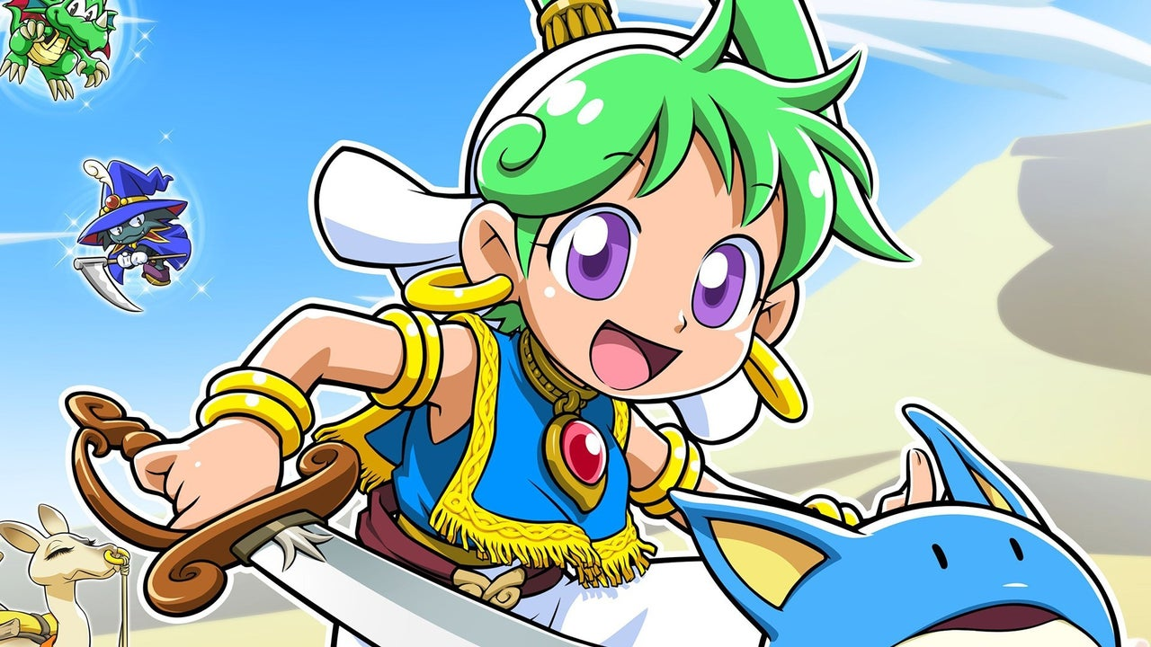 Wonder Boy Asha in Monster World Special Pack Edition